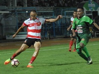 Hasil Akhir PS TNI vs Madura United Skor 2-3