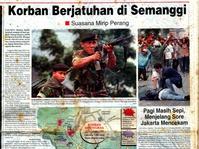 1998: Tuntutan Reformasi, Perubahan Kekuasaan, Penembakan