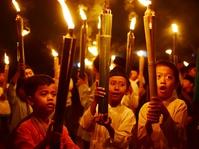 Pawai Obor Jelang Ramadhan