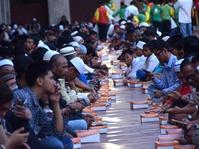 Buka Puasa Bersama Di Masjid Istiqlal