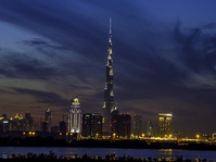 Tiga Waktu Berbuka Puasa di Burj Khalifa