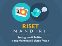 Instagram dan Twitter yang Menemani Selama Puasa