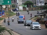 Pemudik Keluhkan Kondisi Jalur Lintas Timur Sumatera