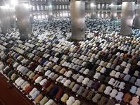 Masjid Istiqlal Memulai Persiapan Salat Idul Fitri 1438 H