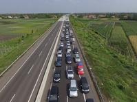 Kemacetan di Tol Brexit