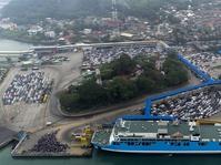 Arus Mudik di Pelabuhan Merak Mulai Menyusut di H-1 Lebaran