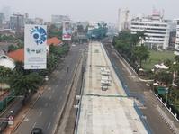 Proyek MRT Fase II Bundaran HI-Kampung Bandan Dibangun 2018
