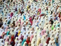 Salat Idul Fitri 1438 di Jakarta