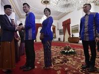 AHY dan Ibas Kunjungi Jokowi Ucapkan Selamat Idul Fitri