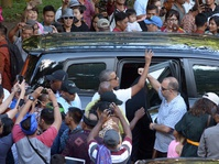 Obama Tiba di Yogyakarta dan Akan Kunjungi Candi Borobudur