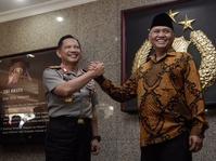 Silaturahmi Kapolri dan Pimpinan KPK