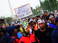Demo Nelayan Tuntut Pelegalan Cantrang