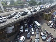 Kemacetan Akibat Proyek LRT di Pancoran