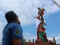 Ketua MPR Klaim Tak Resmikan Patung Guan Yu di Tuban