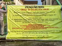 Pengadilan Hitung Utang Nyonya Meneer Bareng para Kreditur
