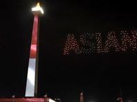 Gemerlap Countdown Asian Games 2018