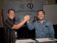 Wens Manggut Terpilih Jadi Ketua Umum AMSI