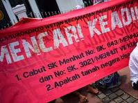 Demo Petani Surokontoh di MA