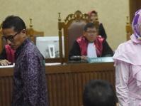 Sidang Eks Dirut PT DGI: Angelina Sondakh Serang Nazaruddin