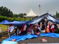 Tenda Protes Petani Kendeng