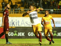 Hasil Laga Liga 1: Sriwijaya FC vs Persela Skor Akhir 2-0