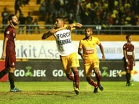 Jadwal GoJek Traveloka 26 September: Sriwijaya FC vs Persela