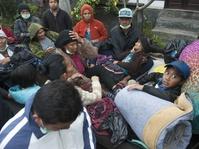 Mensos: Sanitasi Lokasi Pengungsi Gunung Agung Harus Bersih