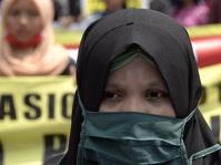 Aksi Menolak Kekerasan Terhadap Petani