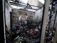 Gudang Elektronik di Sidoarjo Terbakar, Diduga karena Las