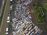 Massa Aksi 299 Disapa Rizieq Shihab Lewat Lagu Ciptaannya