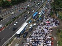 Kawal Aksi 299, Polisi KerahkanPasukan Asmaul Husna