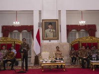 Jokowi Minta Masalah Kemiskinan Jadi Fokus Utama APBN 2018