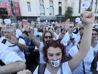 Ratusan Ribu Demonstran Memprotes Kemerdekaan Catalunya