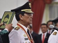 Gubernur dan Wagub Yogyakarta Dilantik di Istana Negara