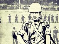Para Perwira Angkatan Darat Tuntut Parlemen Dibubarkan