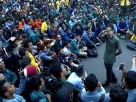 BEM UNS Gelar Aksi Tuntut Pembebasan Aktivis Mahasiswa