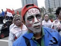 AMT Bersyukur Bisa Penuhi Nazar Long March dari Bandung-Jakarta