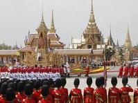 Thailand Gelar Upacara Kremasi Mendiang Raja Bhumibol Adulyadej