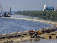 Pembangunan 10 Kilometer Tanggul Laut Fase A Dibiayai 2 Pengembang