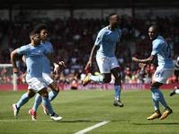 Hasil Manchester City vs Tottenham Hotspurs Skor 4-1