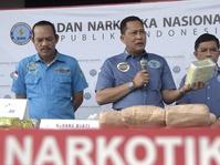 BNN Tangkap 4 Tersangka Narkoba Internasional di Aceh
