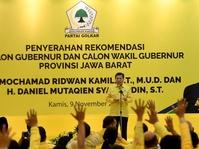 Pilgub Jabar 2018: Ridwan Kamil Didesak Segera Tentukan Cawagub