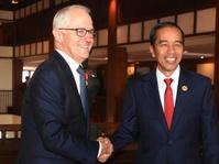 Jokowi-Turnbull Bicara soal Rakhine hingga Marawi di KTT APEC
