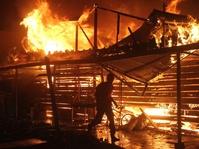 Tahun Baru Imlek: Puluhan Ruko Kawasan Chinatown Siak Dilalap Api