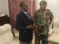 Presiden Mugabe Menolak Tekanan Militer Zimbabwe untuk Lengser