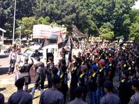 Setya Novanto Ditahan, Polisi Tak Tambah Personel Jaga Gedung KPK