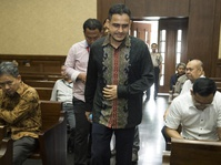 Majelis Hakim Kesal Nazaruddin Sering Bilang Lupa
