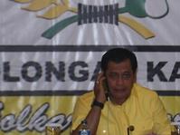 Nurdin Halid: Surat Setya Novanto Tak Pengaruhi Rapat Pleno Golkar