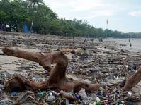 Perayaan Tahun Baru di Sekitar Pantai Kuta Sisakan Sampah 354 Ton