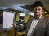 Fahri Hamzah: Ketua DPR Diganti Jika Sudah Jadi Terdakwa